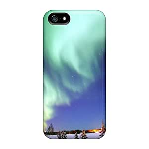 New Premium Dana Lindsey Mendez Aurora Borealis Skin Case Cover Excellent Fitted For Iphone 5/5s