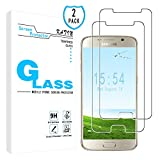 Best Galaxy S6 Screen Protectors - Galaxy S6 Screen Protector - KATIN [2-Pack] Samsung Review
