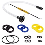 Kit King USA HS5157, HS5167 Front Mount Steering Cyl Seal Kit for Seastar  Incl  Seals, Fluid Filler Tube and Seal Pick HC5345 and More