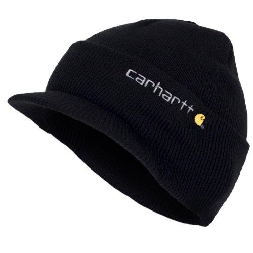 Invierno de A164BLK logotipo Carhartt beisbol Negro CHA164BLK sombrero Visera Gorro con Z4qwR7