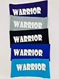 5 Pack of Warrior Headbands, Ninja Headbands for Kids, Party Favors, Blue - Set of 5