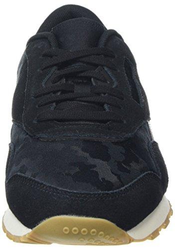 Negro chalk De Zapatillas black Nylon Sg 000 Cl Reebok Para Hombre Deporte q6g8aa