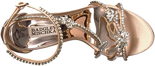 Badgley Mischka Kvinna Hodge Heeled Sandal Latte