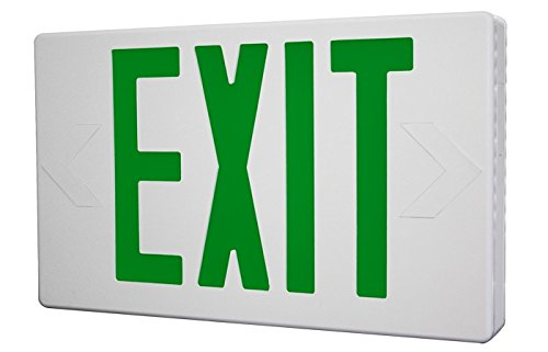 Remote Capable Green LED Exit Sign