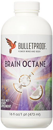 Bulletproof - Brain Octane Oil, Reliable and Quick Source of Energy (16 Ounce)