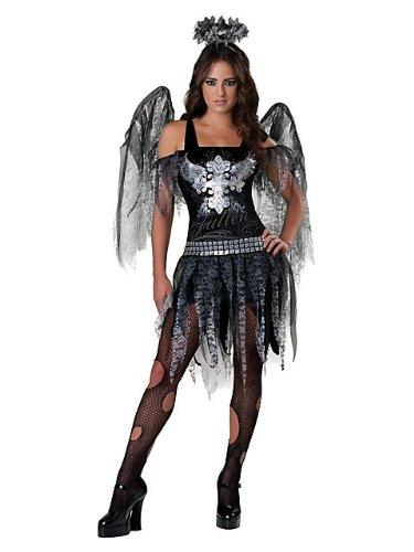 [Dark Angel Costume - Teen Medium] (Fallen Angels Costumes For Kids)