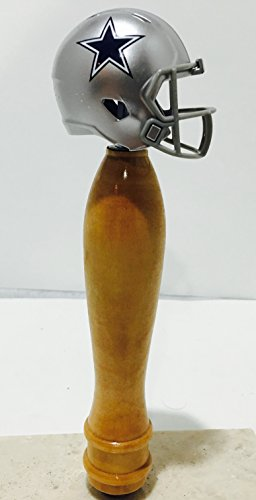 Dallas Cowboys Pub Style Beer Tap Handle Natural by Matts Taps
