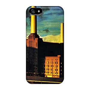Scratch Resistant Hard Phone Cases For Iphone 5/5s With Unique Design Beautiful Pink Floyd Pattern LavernaCooney