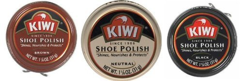 Kiwi Brown/Black/Neutral 1-1/8oz 3 Pack (1 ea color)
