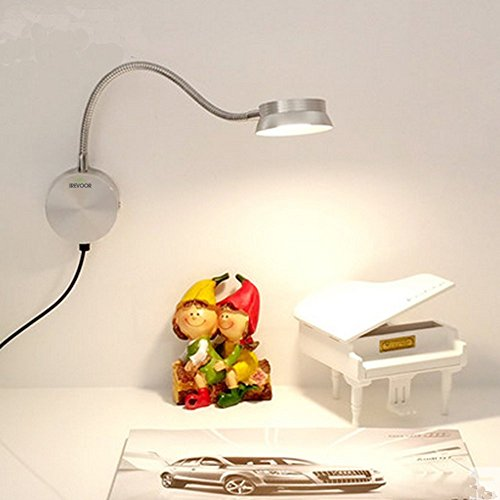 Wall Sconce With Usb : Bedroom Reading Light ,IreVoor 6W Bedroom LED Headboard Wall Lamp Sconce Lamp Lighting USB With ...