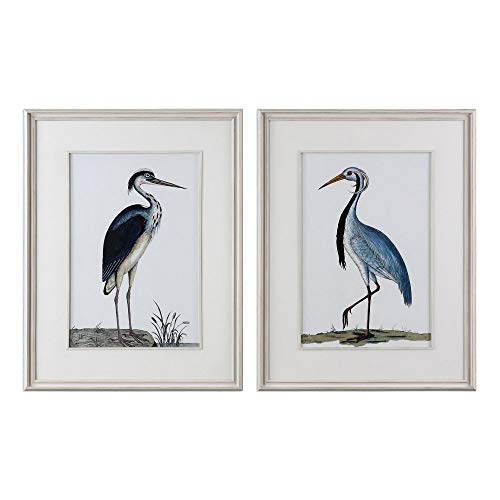 Uttermost 2-Pc Shore Birds Framed Prints Wall Art Set