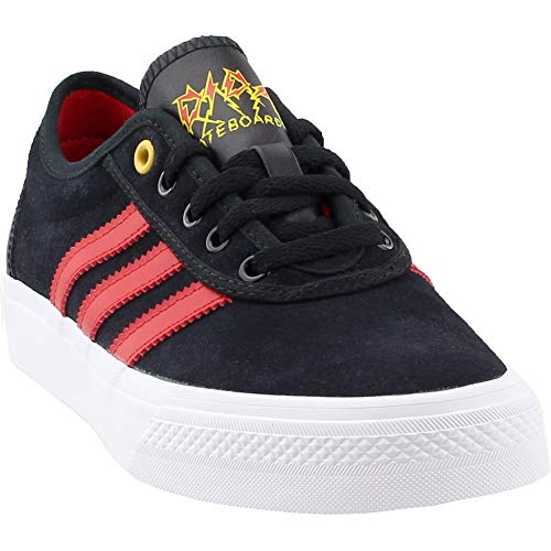 adidas Originals Men's Adi-Ease, Core Black/Scarlet/White, 7 M US by adidas Originals