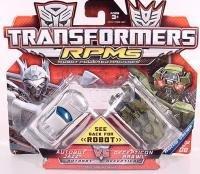 Transformer Movie 2 Mini Vehicles Battle Pack - Jazz vs Brawl