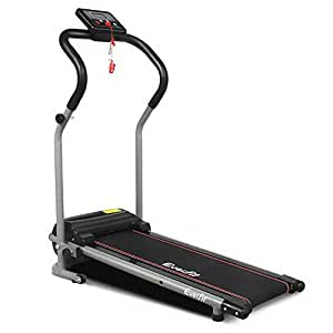 Electric Treadmill Motorised Running Exercise Machine Home Gym Fitness Equipment Everfit Lightweight Folding Design Powerful Motor 6KM/H Speed 3 Training Programs LCD Display