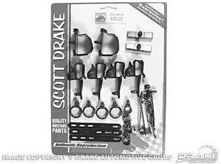 Scott Drake C9ZZ-14000-BK 1969 Wire Loom Mounting Kit