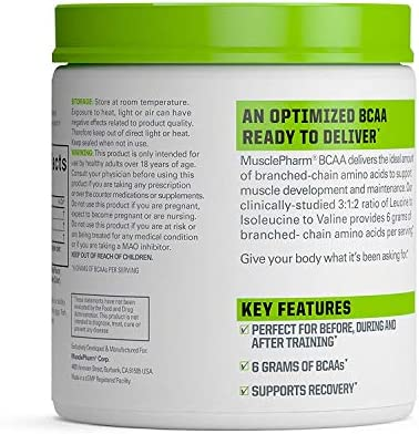 MP Essentials BCAA Powder, Post-Workout Recovery Drink, Fruit Punch, 30 servings 4