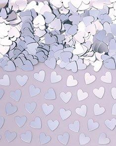 Amscan Silver Heart Confetti (Bells Silver Confetti)