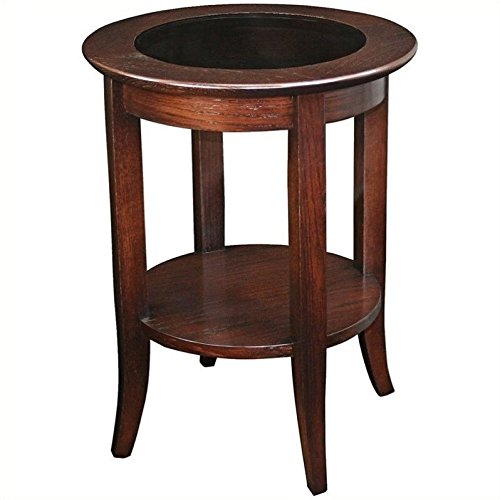 Ash Round End Table - 3