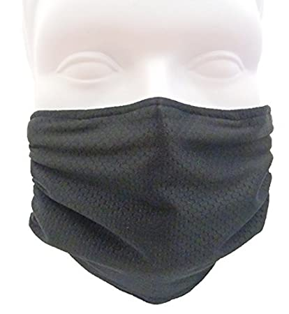 Healthy® Breathe black Antimicrobial With Killing Allergy Dust For Mask amp; Germ Honeycomb Flu Cold