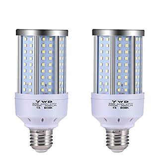 LED Corn Light Bulb 30W, LED Garage Lights,3000 Lumen 6000K, LED Street Light, E26/E27, Garage Ceiling Light, for Basement, Barn, Warehouse, Workshop, Sports Hall