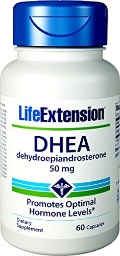 Dhea 50 Mg 60 Capsules - Life Extension Dhea 50 Mg, 60 Capsules