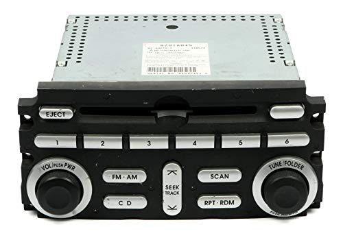 06-08 Mitsubishi Eclipse Original AM FM CD Stereo Radio OEM Part Number 8701A045 (Mitsubishi Radio Code)