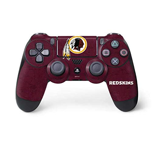 Washington Redskins Four - NFL Washington Redskins Distressed Skin for Sony PlayStation 4/ PS4 Dual Shock4 Controller