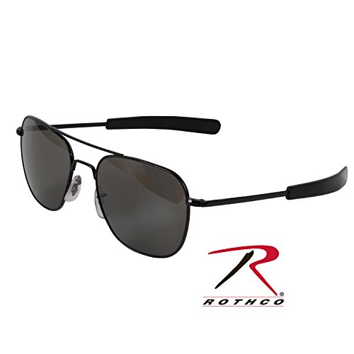 Gray Pilot Sunglasses - 4
