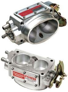 Professional Products (69705) 52mm Satin Throttle Body for Small Block (Satin Throttle Body)