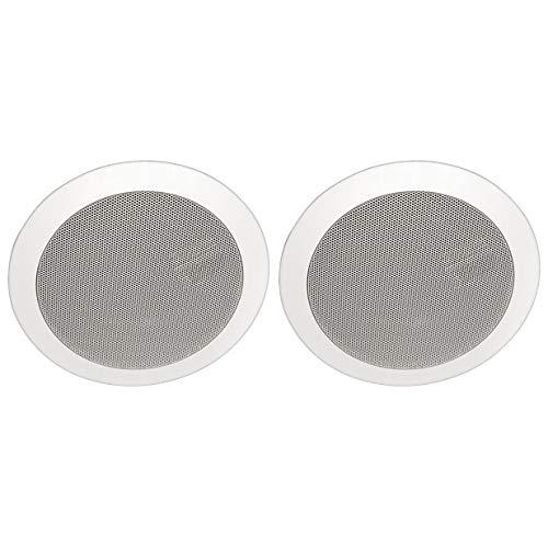 Yorkville CM5/70 Coliseum Mini Series 5 Round Ceiling Speaker 70V / 8 Ohm - Pair White