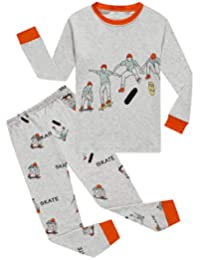 Little&Big Boys Pajamas Kids 100% Cotton Pjs Sleepwear Childrens Clothing Set