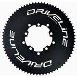 Driveline AL7075 Road Bike Bicycle TT Chainring 75T, BCD 110/130mm, Black #ST1496