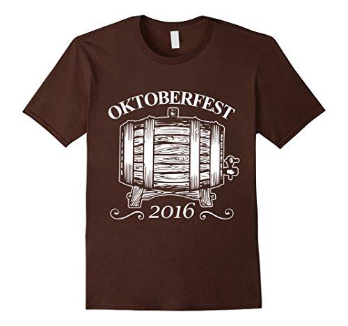 [Men's Oktoberfest Beer Festival Germany German October Drink Shirt Large Brown] (Oktoberfest Costumes Australia)