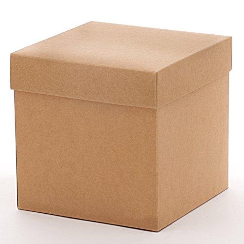 50ea - 10 X 10 X 9 Kraft Heavy Wall Gift Box Bottom