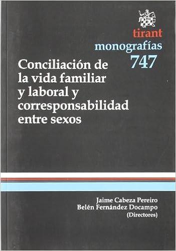 Libro conciliación familiar y laboral