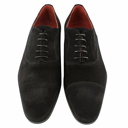 Exclusivo Paris Gregorio Richelieus, zapatos de hombre para hombre Negro - negro
