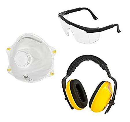 Viwanda Basic Face Protection Safety Equipment Including Spectacles