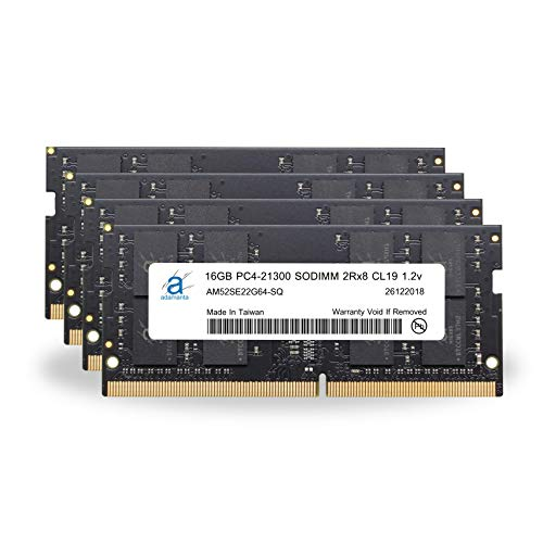 Adamanta 64GB (4x16GB) Memory Upgrade for 2019 Apple iMac 27