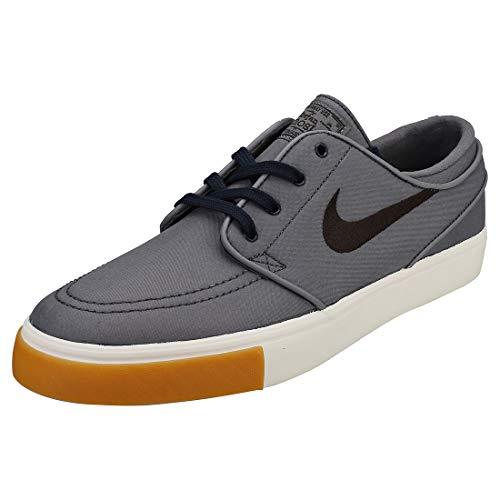 Nike Zoom Stefan Janoski CNVS Mens Fashion-Sneakers 615957-025_9.5 - Grey Black White