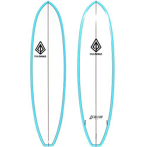 Paragon Surfboards Lil Dipper Surfboard | Fun & Easy to Ride Surf Board for All Surfing Skill Levels | Unique ParaLite…