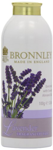Bronnley Lavender Fragranced Talc 100g/3.5 Oz - Bronnley Talcum Powder