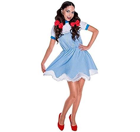 Disfraz de Dorothy para mujer: Amazon.es: Juguetes y juegos