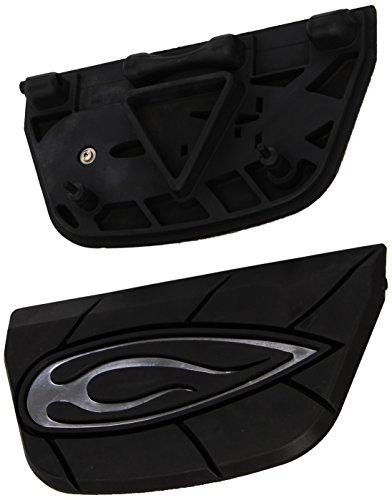 Kuryakyn 7523 Flame Passenger Board (Flame Harley Davidson Boots)