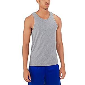 Russell Athletic Men's Essential Tank, Oxford, L