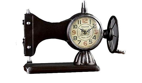 Reloj de escritorio y mesa para el hogar, estilo retro, máquina de ...