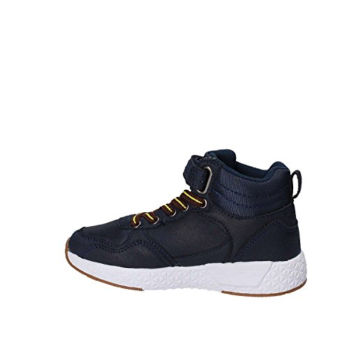Scarpe Pelle Bambino Primigi 8302000 Blu Alte Nabuk Sneakers qCXgXw