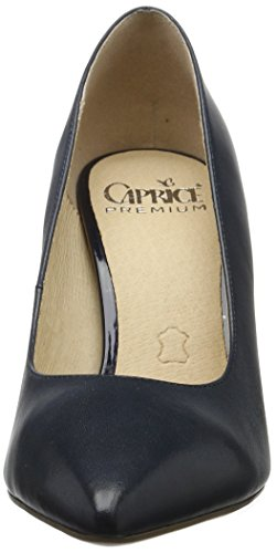 Caprice Damen 22405 Pumps Blau (NAVY NAPPA)