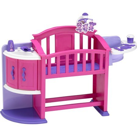 American Plastic My Very Own Nursery Play Set and 6-Piece