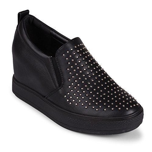 Wanted Womens Torrey Black Slip-On - 10
