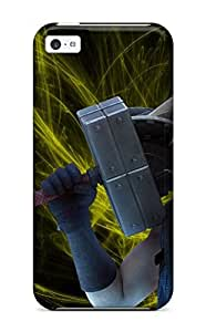 fenglinlinNannette J. Arroyo's Shop New Style Tpu Shockproof/dirt-proof Cloud Strife Cover Case For Iphone(5c)